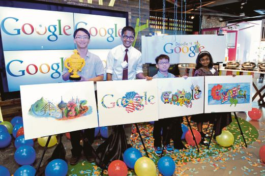 16-year-old's design of Google Doodle to be featured on