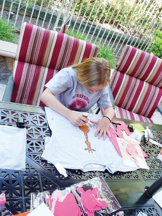 The DIY T-shirt kits are available for children across the globe.