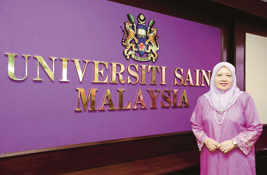 Universiti Sains Malaysia (USM) vice-chancellor Professor Datuk Dr Asma Ismail says the university had helped various parties to verify the authenticity of degrees, especially potential employers. File pic by MUHAMMAD MIKAIL ONG.