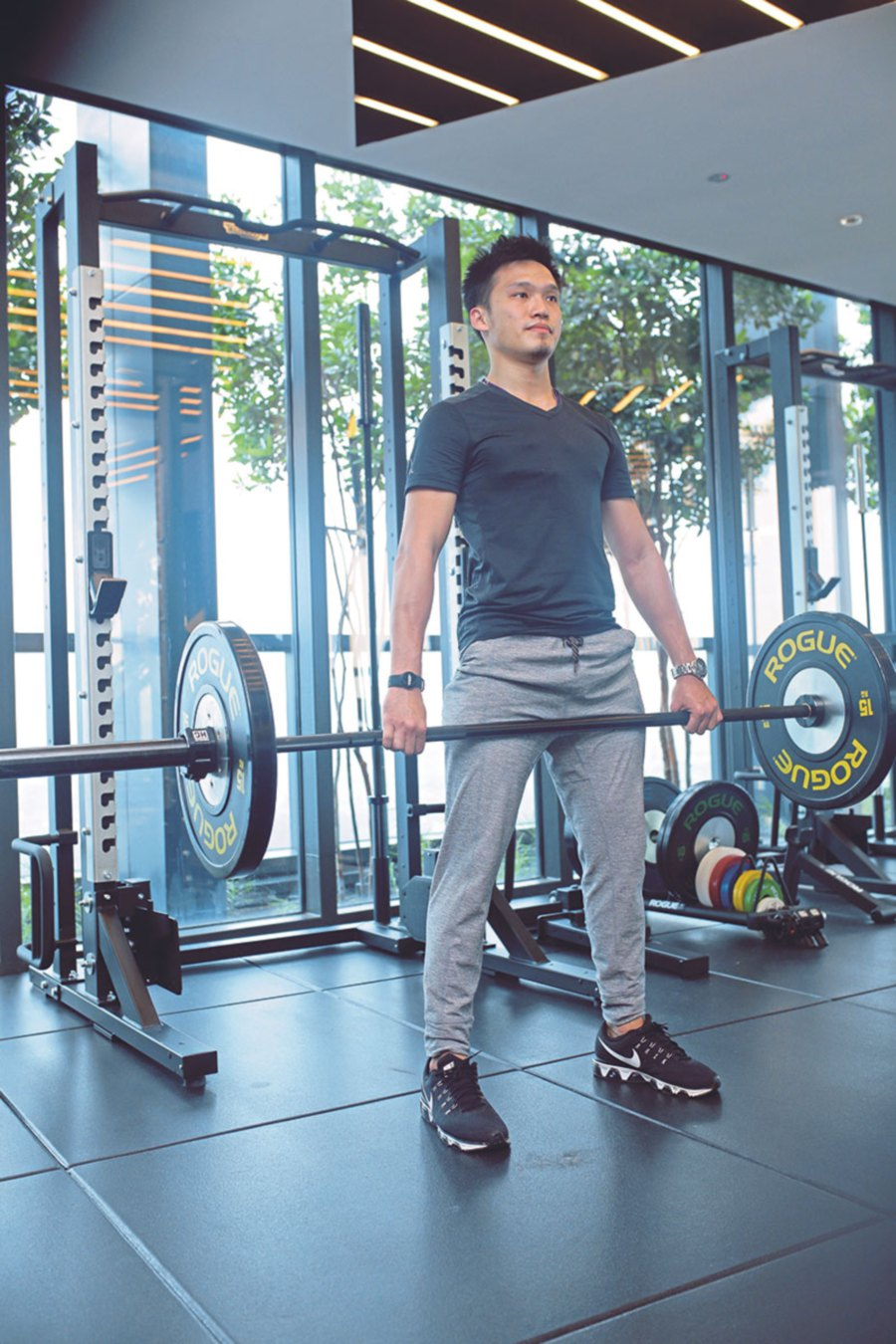 According to WebMD, the main CrossFit exercises involve the whole body and include pushing, pulling, running, rowing and squatting.