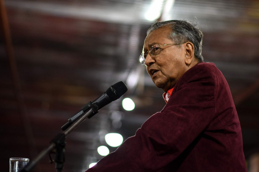 Dr Mahathir admitted to IJN with chest infection