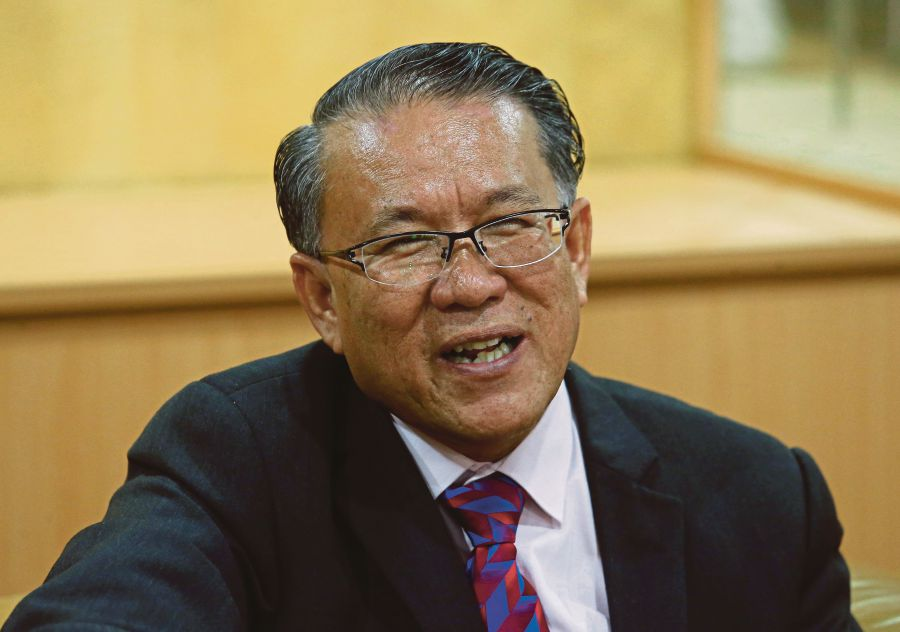 (File pix) Kuala Lumpur Mayor Datuk Seri Mhd Amin Nordin Abd Aziz pointed out that it was the right of the landowner to develop the area as long as it stayed within his or her land.
