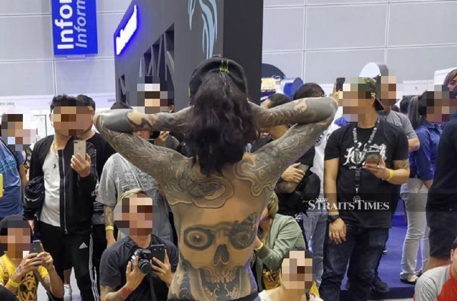 Claims Of Semi-Nude Folks Parading At Tattoo Malaysia Expo