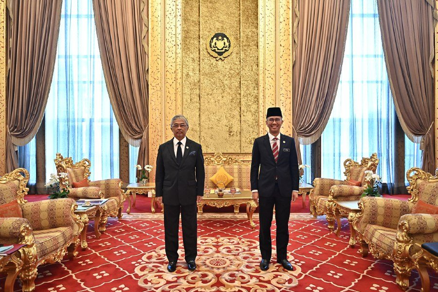 Pic courtesy of  Istana Negara Facebook