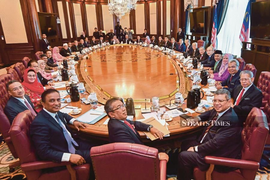 All Cabinet members' salaries will be deducted for the next two months and channeled towards the Covid-19 fund. - BERNAMA file pic