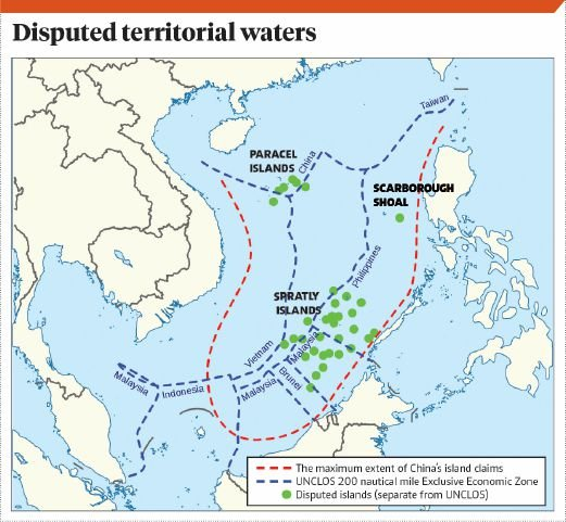 Give A Neutral Name To South China Sea New Straits Times - World map with sea names
