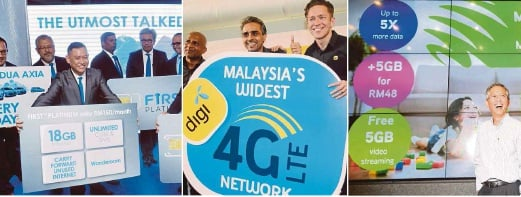 Competition hots up for Big 3 telcos | New Straits Times