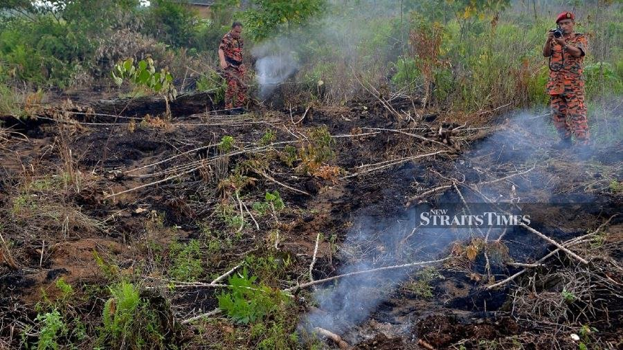 20 Johan Setia Landowners Flouted Open Burning Law 7 Served With Notices