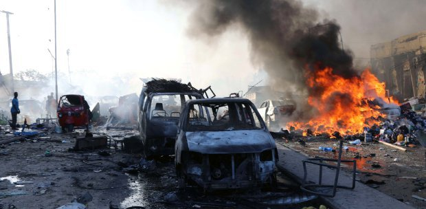 Two Huge Explosions Rock Somali's Capital