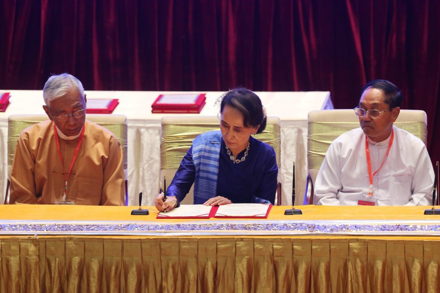 Myanmar Signs Ceasefire With Two Rebel Groups Amid Decades Of