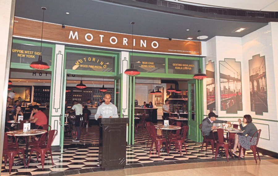 Motorino Malaysia is located on Level 1 of SkyAvenue, Resorts World Genting.