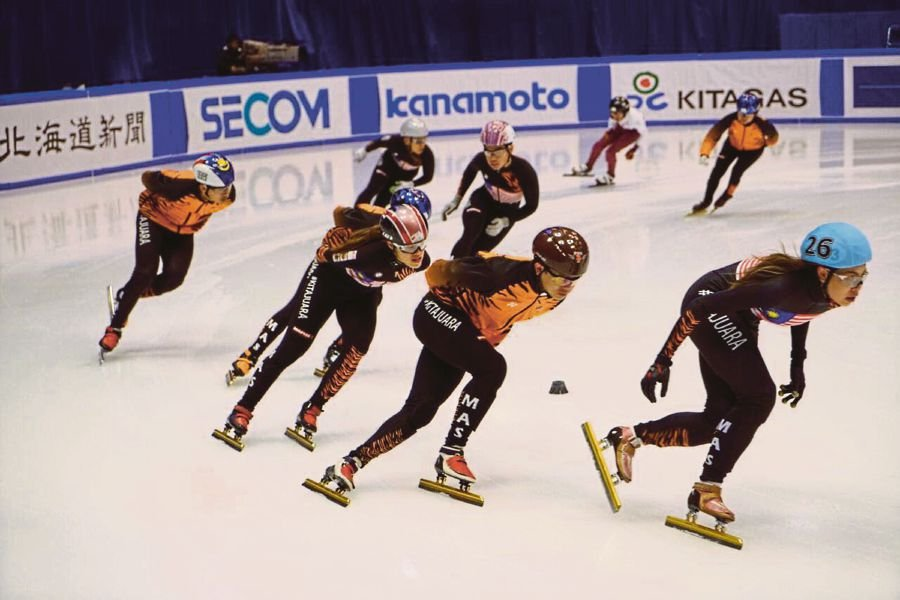 Sunday chat olympic gold within reach says isam new straits malaysian skaters in action at the asian winter games in japan in february voltagebd Gallery