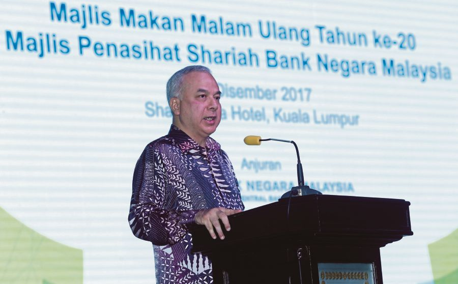 Sultan of Perak Sultan Nazrin Muizzuddin Shah says Islamic finance has a variety of social finance tools which can be used to increase funds and mobilise donations from a diverse range of sources. (PIC BY MOHAMAD SHAHRIL BADRI SAALI)