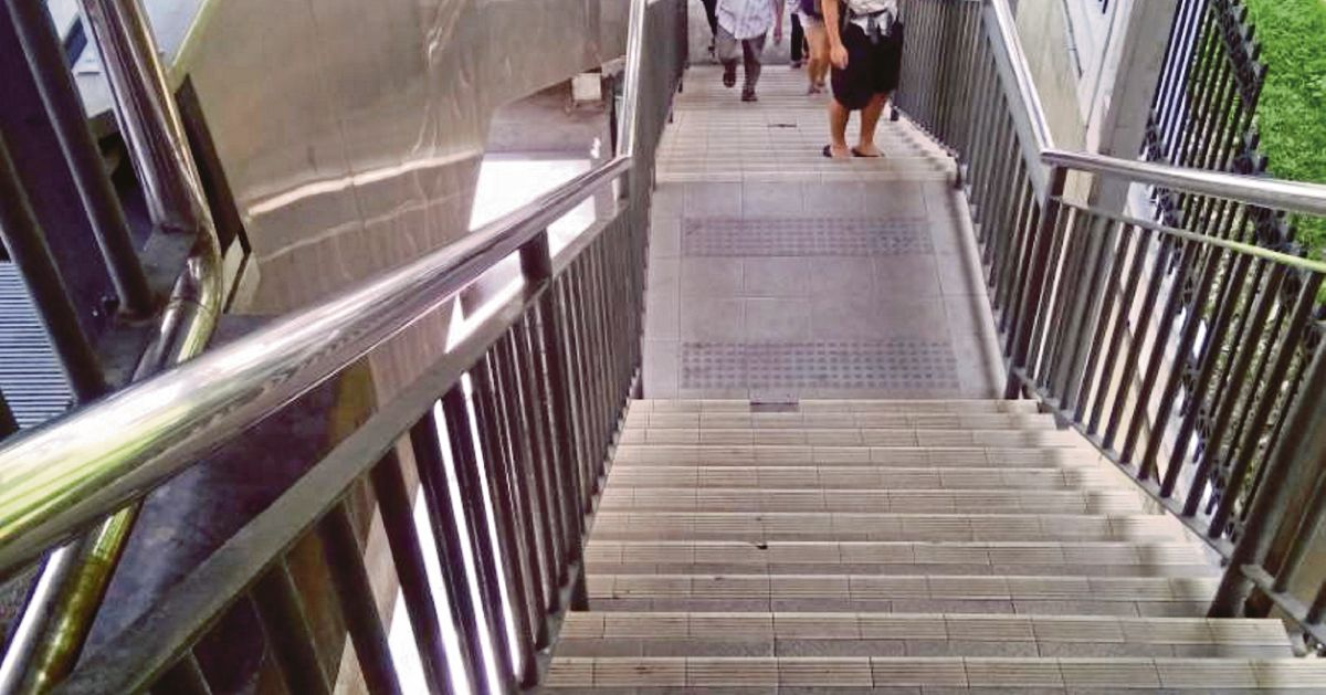 Visitors heading to Pudu Sentral UTC forced to use stairs
