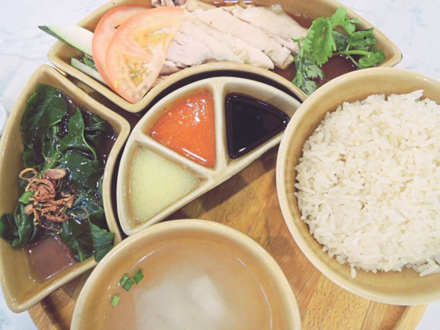 The Singapore Chicken Rice is highly recommended.