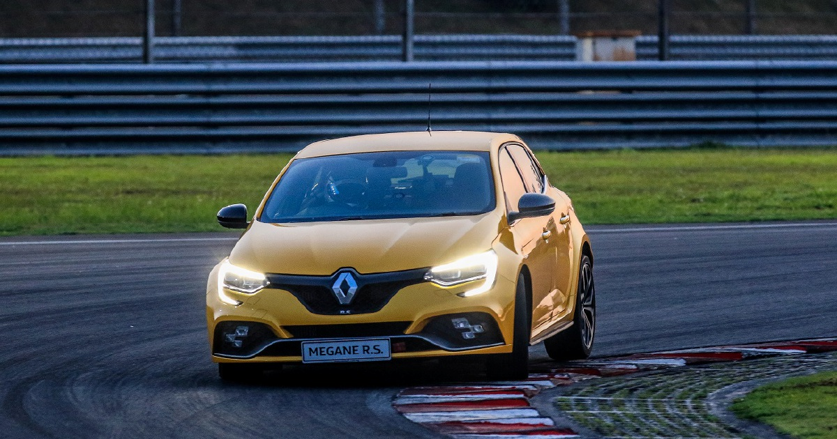 New Megane RS 280 Cup smashes Renault Sport's lap record