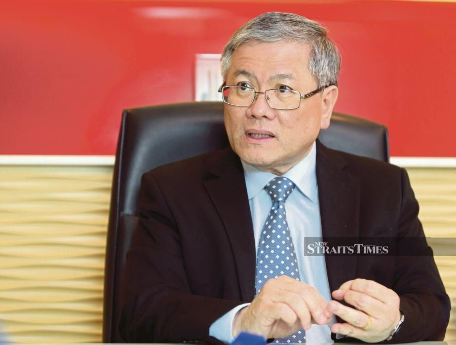 Sunway Healthcare Services managing director Lau Beng Long says he expects the division to contribute at least 20 per cent to group revenue by 2025. -NSTP/ Aziah Azmee