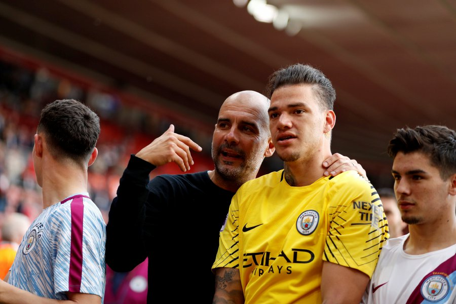 a47ab28ebbf Goalkeeper Ederson commits future to champions Man City