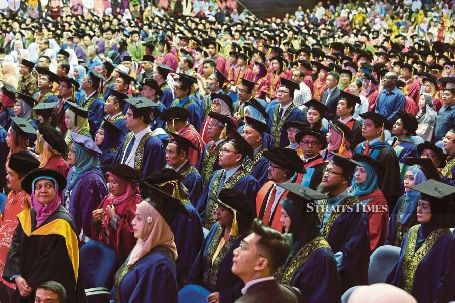 Some 1.3 million Malaysians are pursuing tertiary education. The tertiary enrolment growth scenario demonstrates the Education Ministry's deep commitment in bringing the country on a par with the highest tertiary enrolment levels in Asean today.