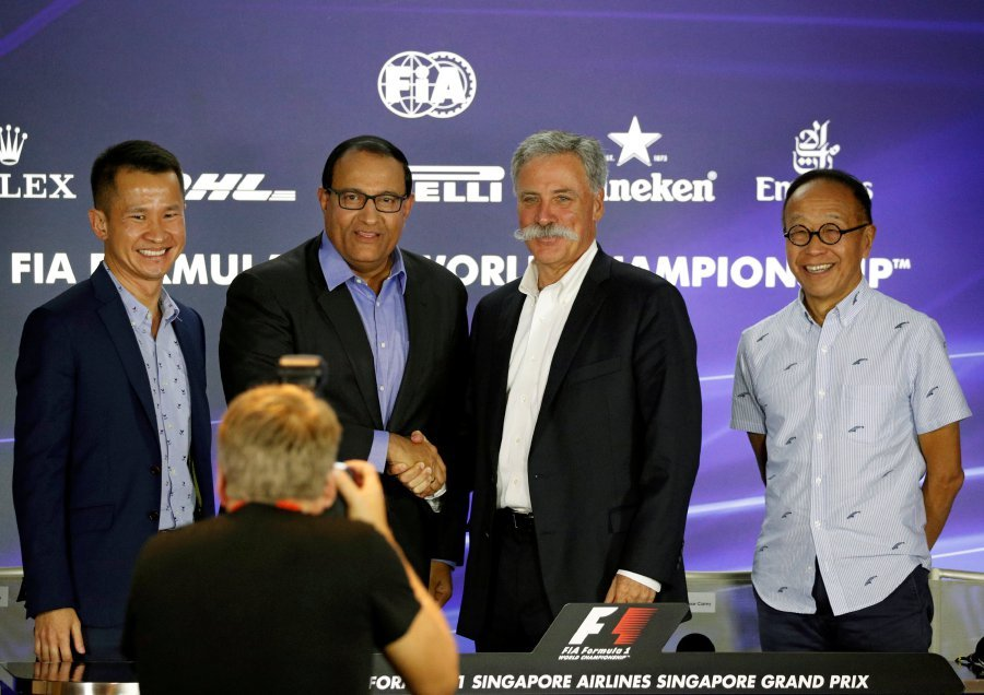 Singapore Grand Prix gets new four-year F1 deal