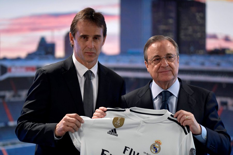Spain fires coach Julen Lopetegui two days before World Cup opener