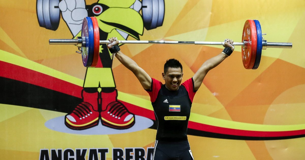 National weightlifter Erry not burdened by weight of expectations