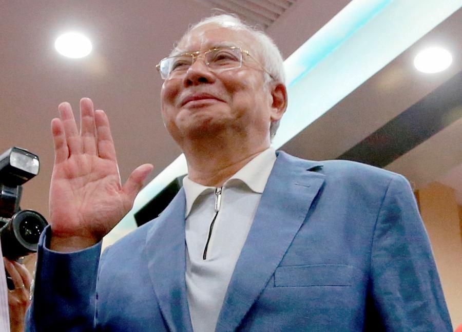 (File pix) Former prime minister Datuk Seri Najib Razak at PWTC, recently. Pix by Mohd Yusni Ariffin