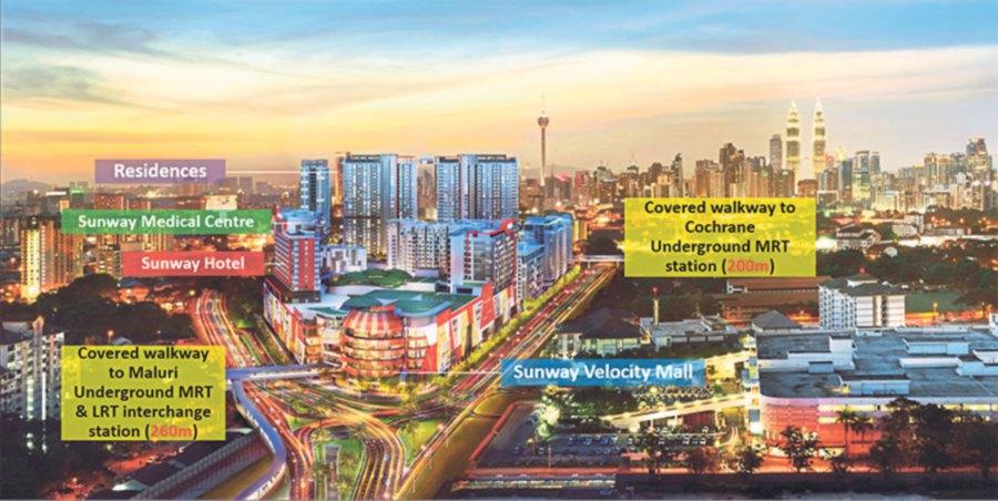 Sunway Velocity Hotel is within the Sunway Velocity Development.