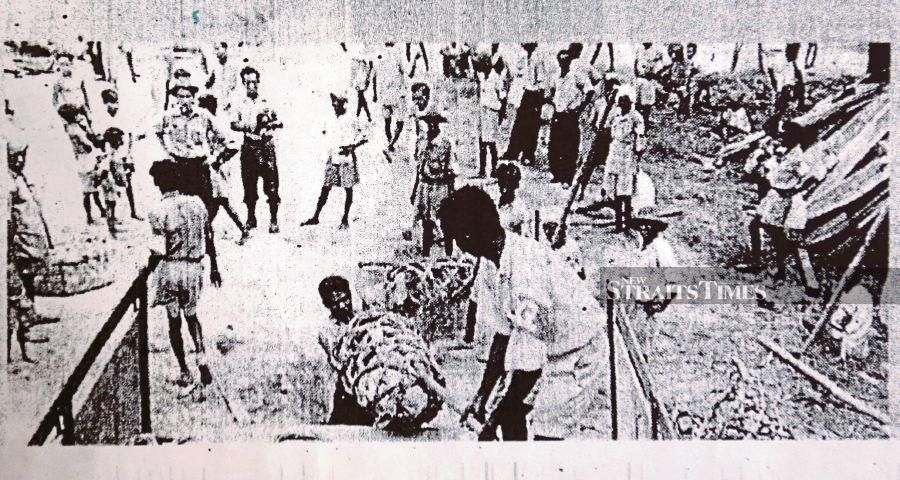The atrocities committed by the communist terrorists during the Emergency were appalling. PIC FROM NSTP ARCHIVE