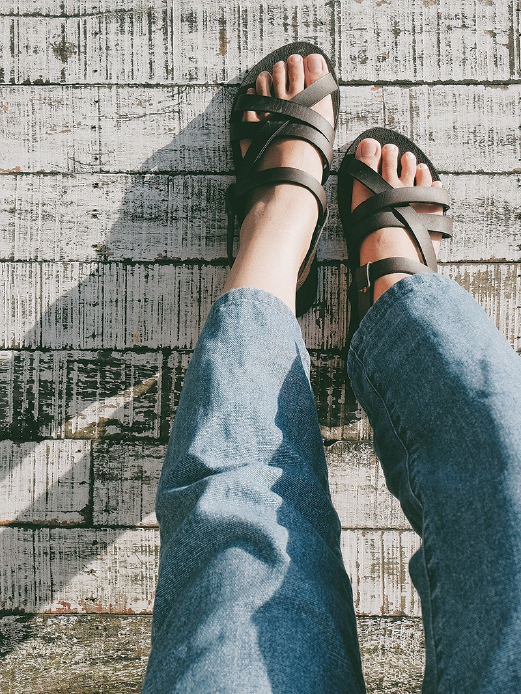 Anaabu's footwear: Simple and comforting for the feet.