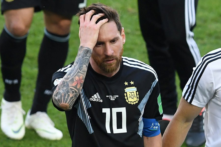 low priced 63397 2d912 World Cup 2018: Iceland hold Argentina to 1-1 draw as Messi ...