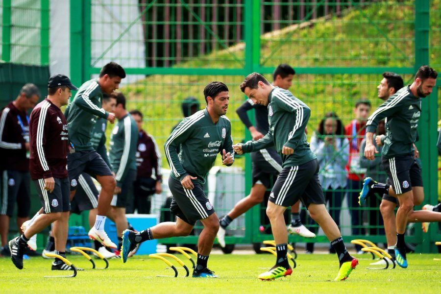Germany and Mexico prepare for another World Cup clash