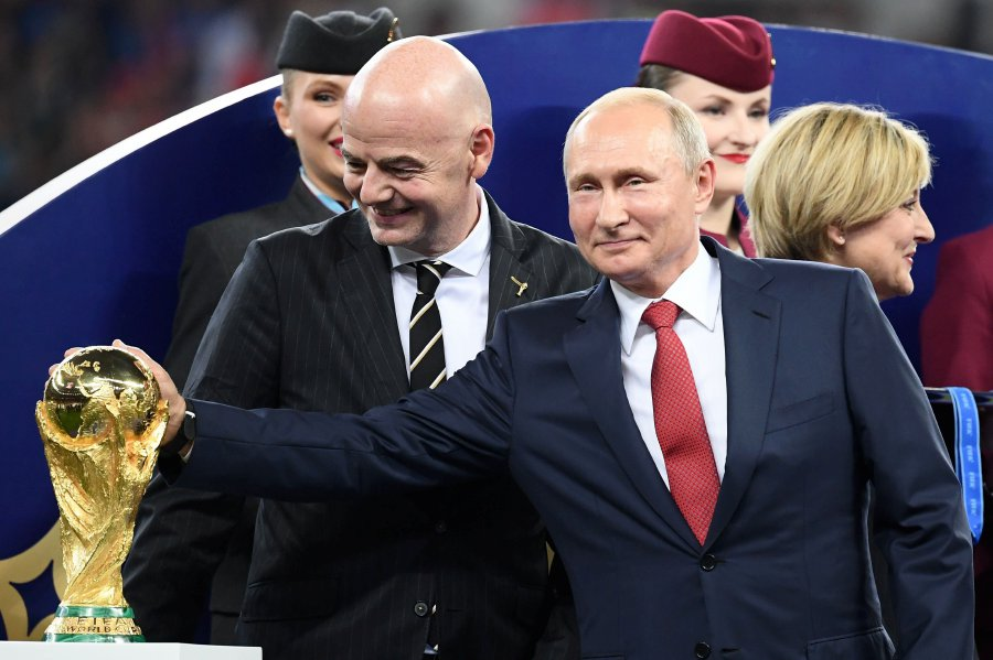 Putin Gives World Cup Fans Visa Free Russia Entry Till End 2018