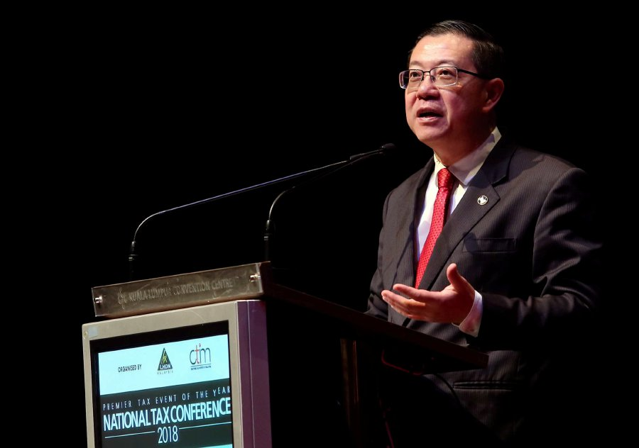 Lim Guan Eng today who informed that the Bill on SST will be passed in Parliament in August. (NSTP/SALHANI IBRAHIM)