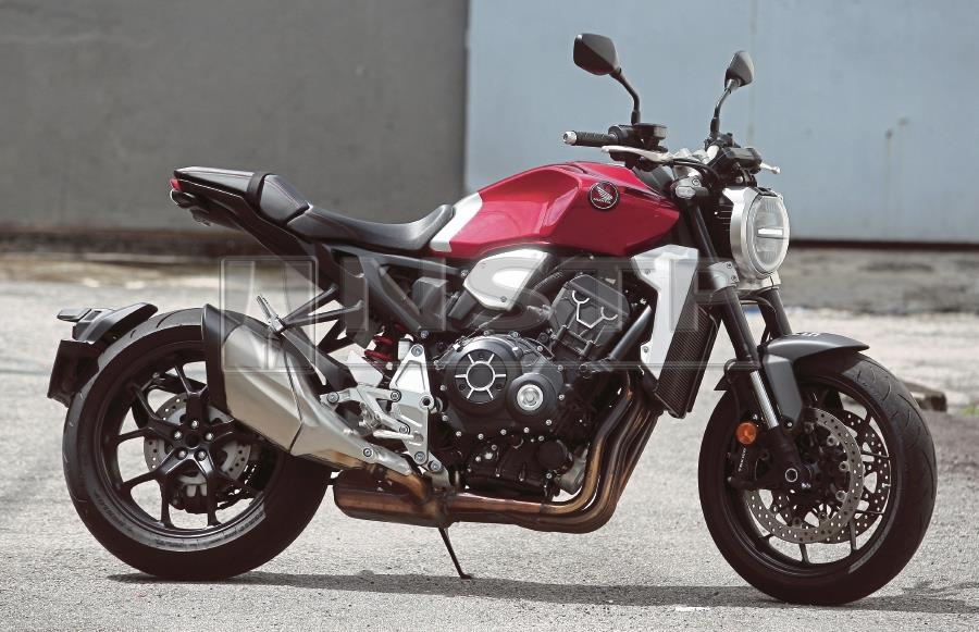 Hondas Cb1000r Combines Looks With Performance New Straits Times