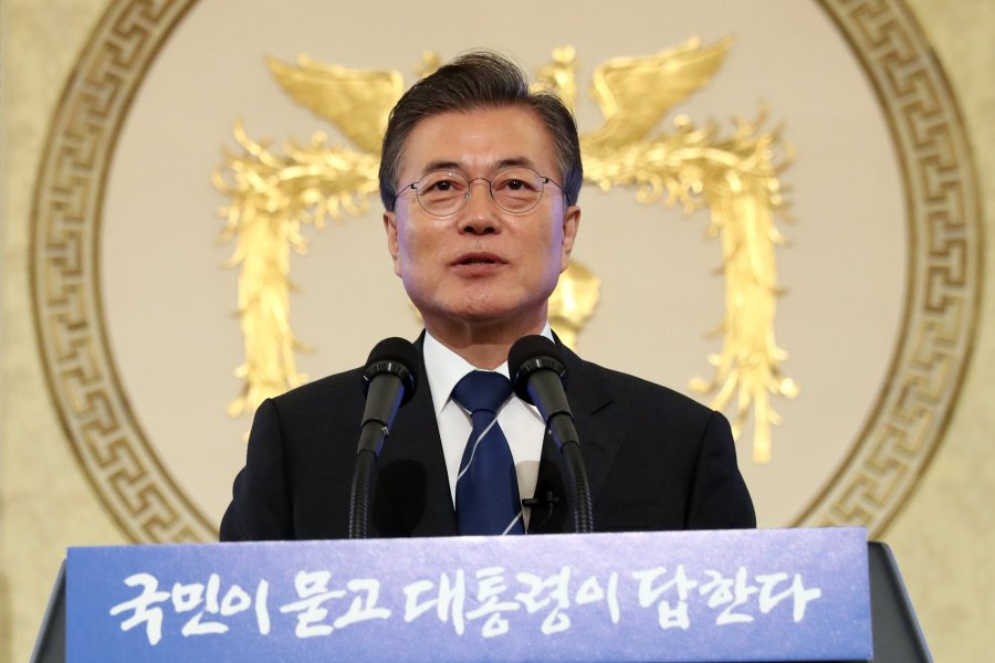 No military action on Korean Peninsula without S. Korea consent: Moon