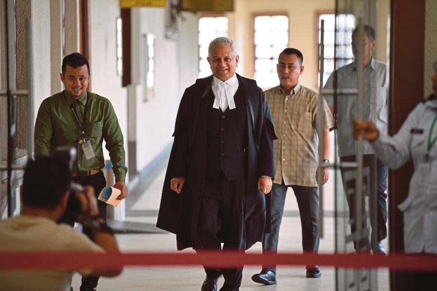 Attorney General Tan Sri Tommy Thomas said there were compelling reasons not to pursue charges against the accused. --BERNAMA