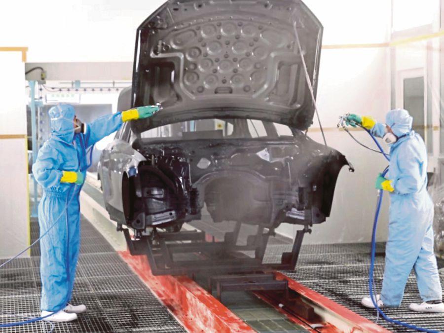 Car Paint Shop >> Drb Hicom Unveils New Paint Shop New Straits Times Malaysia