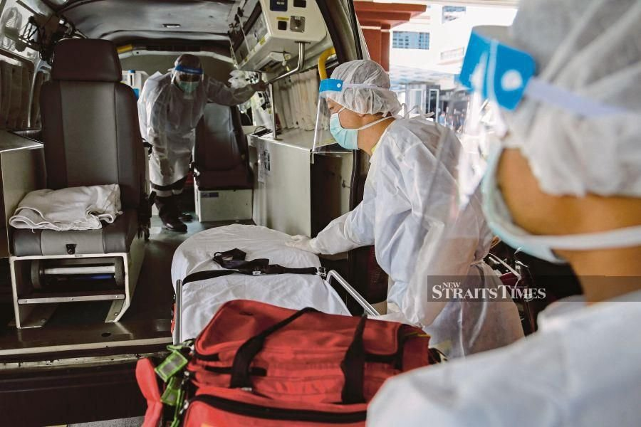 The number of new and active cases — and their geographic spread — as well as of deaths, is a good guide which can be refined further, such as by looking at the levels of severity and need or not of hospitalisation, efficacy of home treatment and so on, which health experts will know about. - NSTP file pic, for illustration purposes only