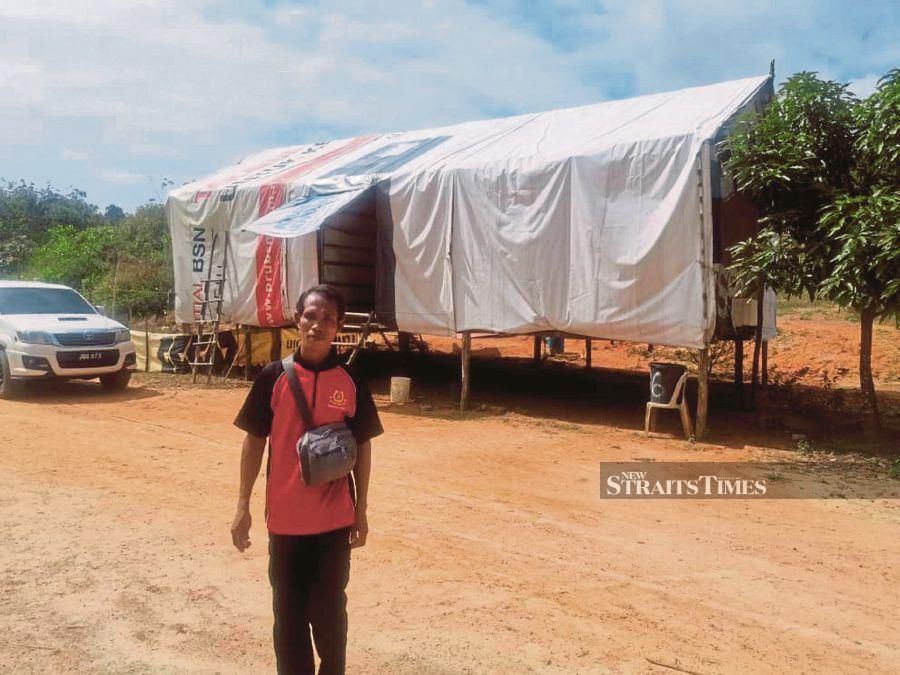 Gazetting the Orang Asli settlement at Kampung Bukit Biru near Muadzam Shah here will be given top priority. -NSTP/T ALAGESH