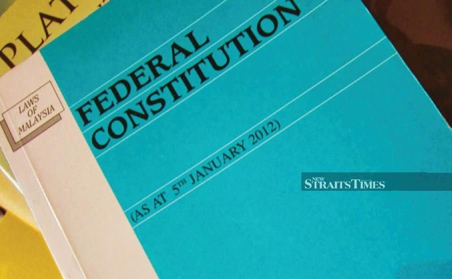 Make it a requirement that the Federal Constitution is taught in schools to expose students to the history behind the Federal Constitution and state constitutions, and the forefathers who drafted them. FILE PIC
