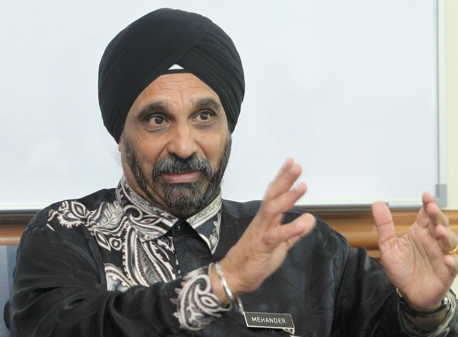Education Ministry sports director Dr Mehander Singh