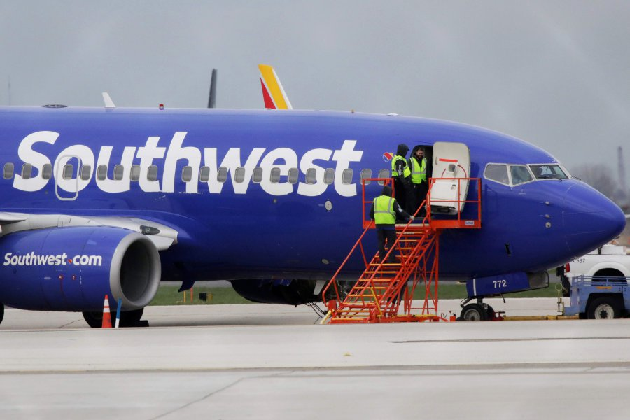 Woman partially sucked out of Southwest plane when window breaks mid-flight