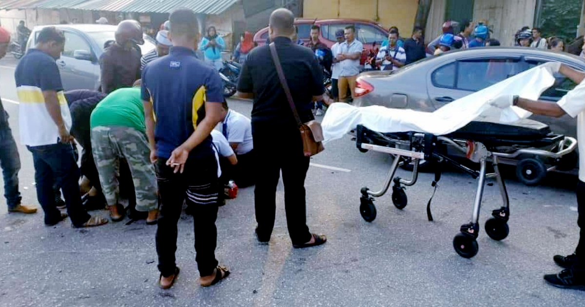 Wan Azizah's driver suffers serious injuries in motorcycle crash