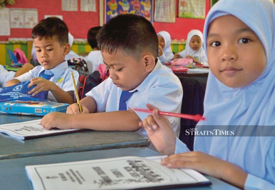Can our children take on the world and carve a better future for themselves and the country? Photo: FAIZ ANUAR
