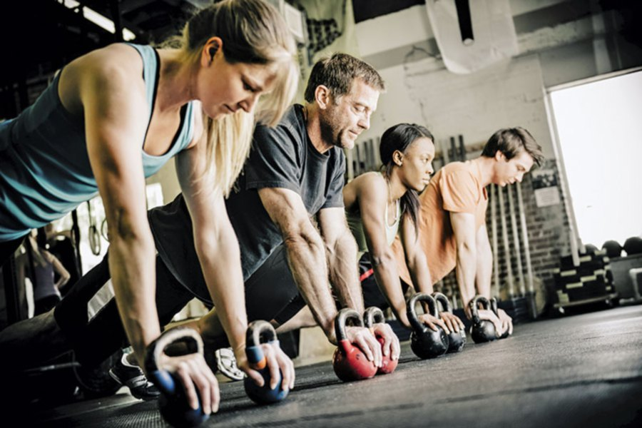 HIIT — push-ups. Picture from: livestrong.com