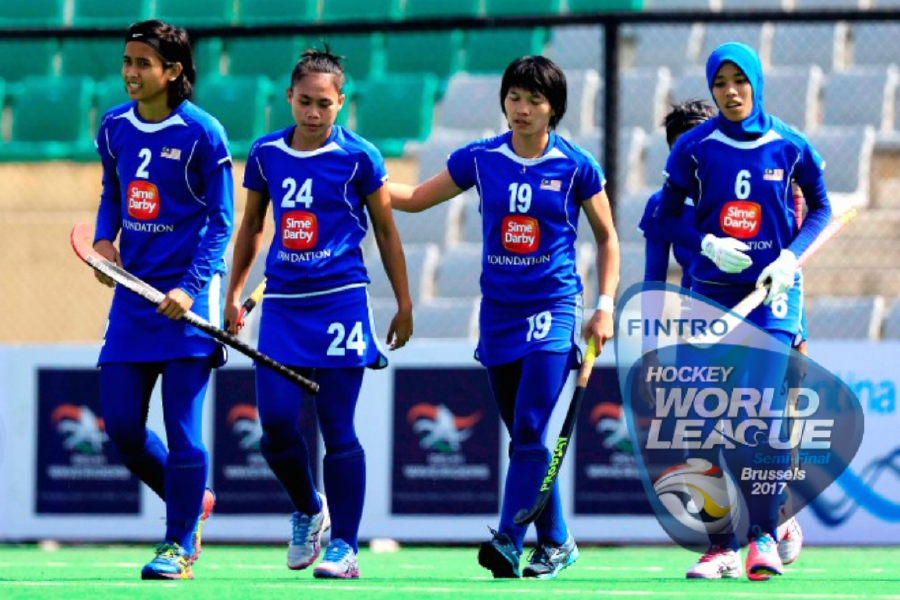 Malaysian Women S Team Go Down Fighting In Hockey World League
