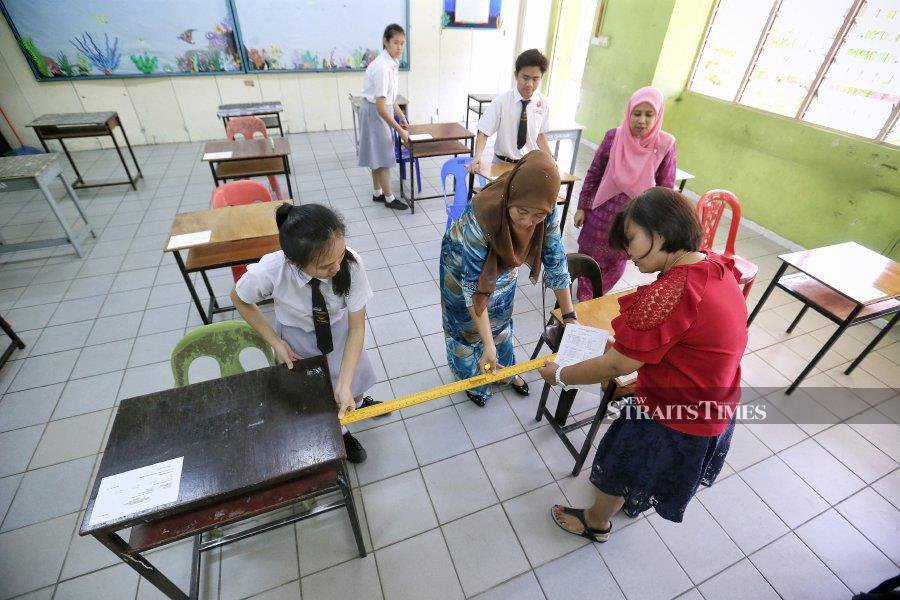 A total of 30 schools will be closed in Silam and Silabukan in Lahad Datu starting Sept 23. - NSTP/File pic
