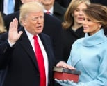 Donald Trump is sworn in as the 45th president of the United States as Melania Trump looks on during the 58th Presidential Inauguration at the U.S. Capitol in Washington, Friday, Jan. 20, 2017. AP Photo<br><a href='205901'>Read More</a>