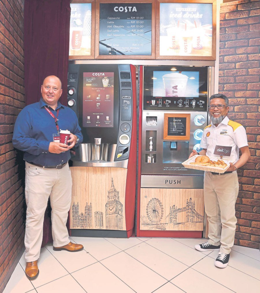 Costa Coffee Aims To Set Up Coffee Vending Machines At 200